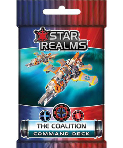 Star Realms Frontier Deck Building Game The Coalition Command Deck by WWG
