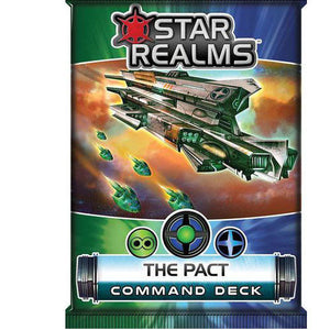 Star Realms Frontier Deck Building Game The Pact Command Deck by WWG