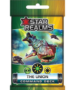 Star Realms Frontier Deck Building Game The Union Command Deck by WWG