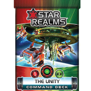 Star Realms Frontier Deck Building Game The Unity Command Deck by WWG