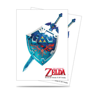 Ultra Pro The Legend of Zelda: Sword and Shield Deck Protector sleeves 65ct