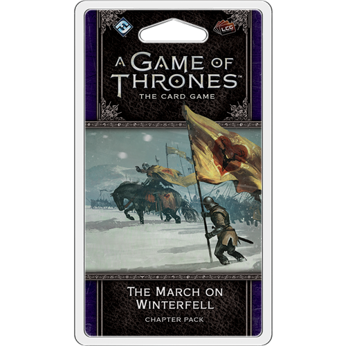 A Game of Thrones LCG - The March on Winterfell Chapter Pack by FFG