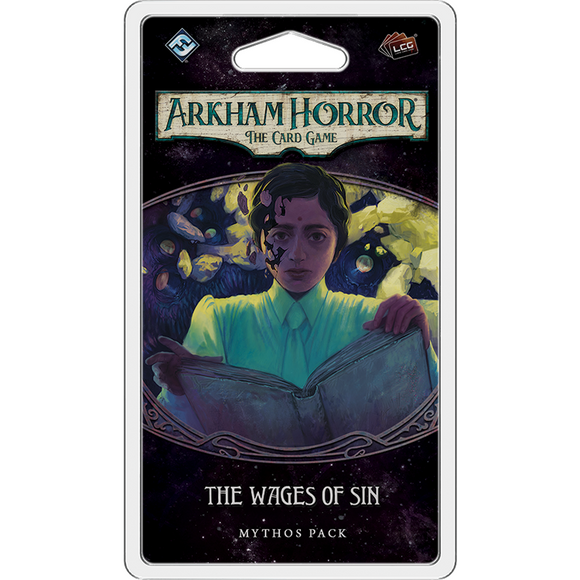 Arkham Horror LCG - The Wages Of Sin Mythos Pack by FFG