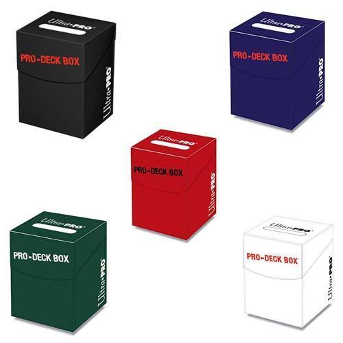 Ultra Pro 100+ Deck Box - Holds 110 Sleeved Standard Cards - Divider Included