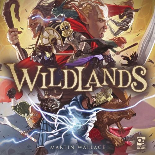 Wildlands Board Game by Osprey