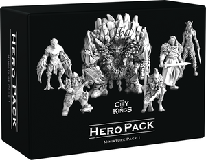 The City of Kings - Hero Pack Miniatures Expansion by City of Games