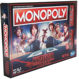 Stranger Things Monopoly Limited Edition Board Game by Hasbro