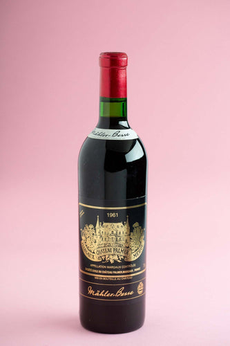 1961 Ch Palmer, Margaux, Bordeaux, France