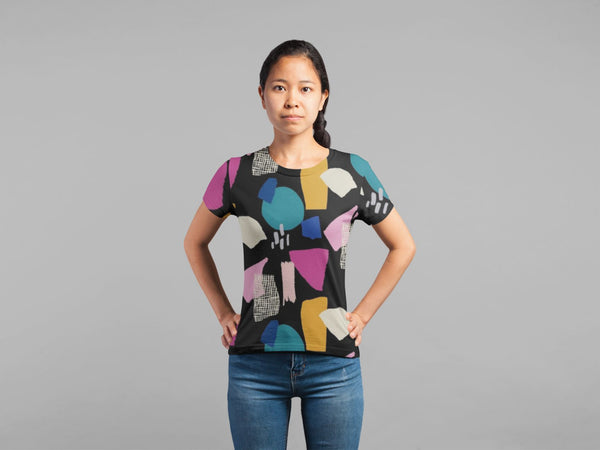 Abstract Pattern (19) Classic Sublimation Women's T-Shirt