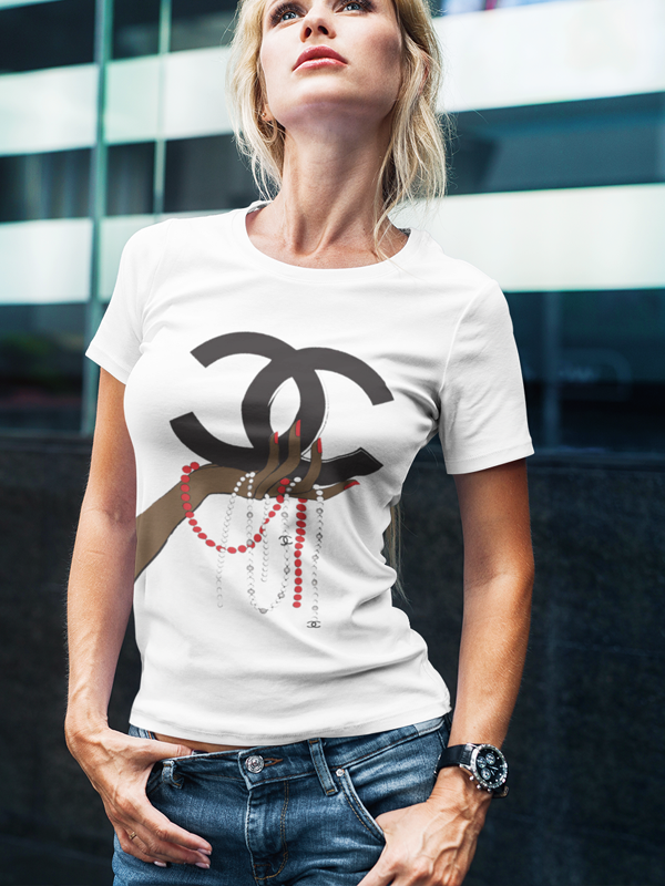 Chanel Jewelry II Women T-shirt