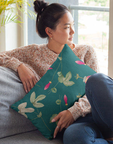 Orchids Rectangle Pillow