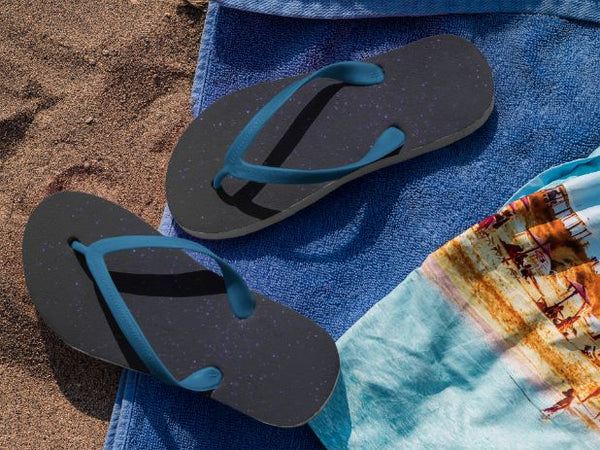Above the Galaxy Flip Flops