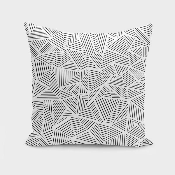 "The Pillow pillows 16"" x 16"" Ab Linear Inverted  Cushion/Pillow"