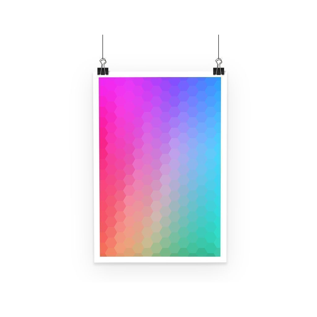 kite.ly Wall Decor A3 Abstract Gradient 1 Poster