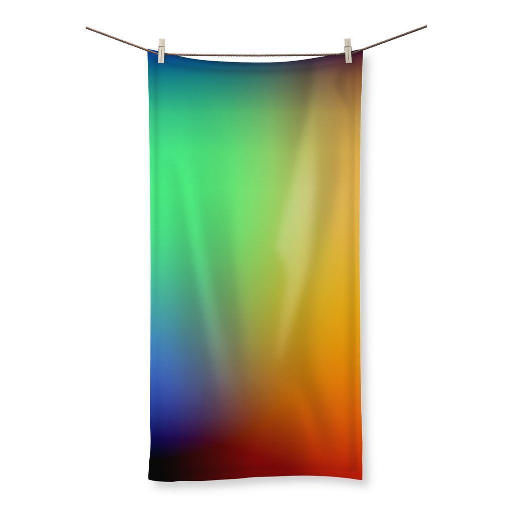 "kite.ly Homeware 19.7""x39.4"" Abstract Gradient 2 Beach Towel"