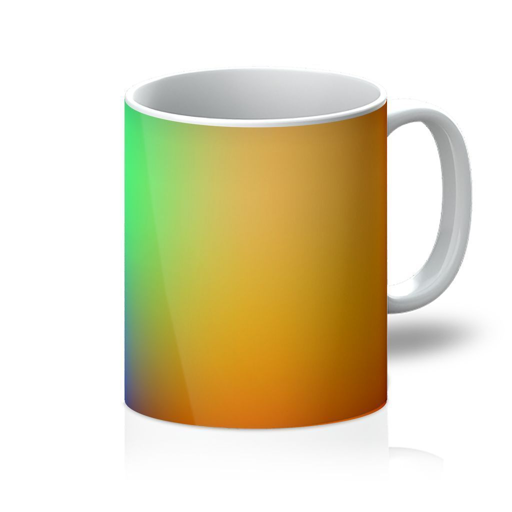VIRGIN TEEZ Homeware 11oz Abstract Gradient 2 Mug