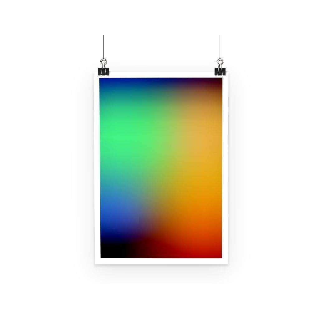 kite.ly Wall Decor A3 Abstract Gradient 2 Poster