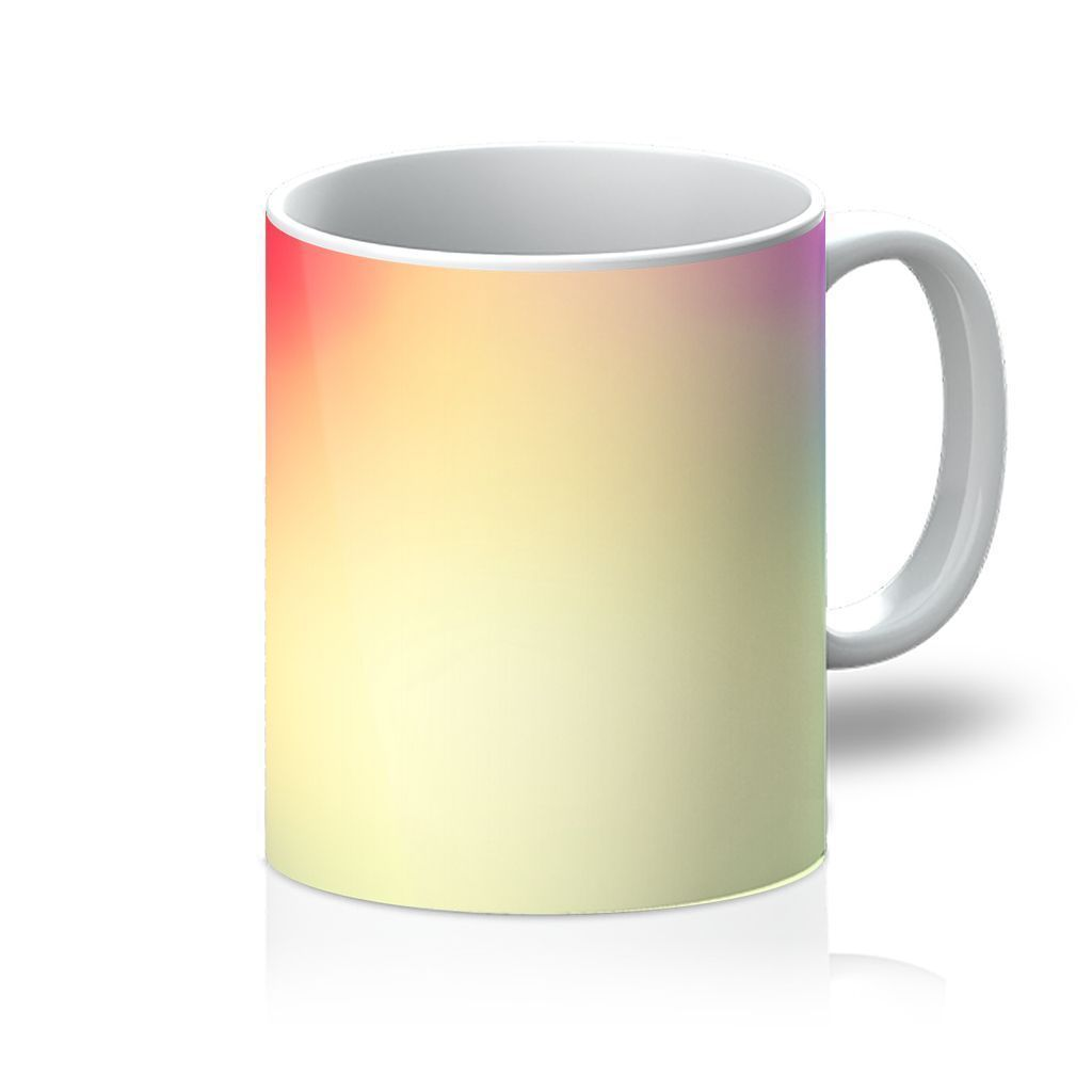 VIRGIN TEEZ Homeware 11oz Abstract Gradient 5 Mug