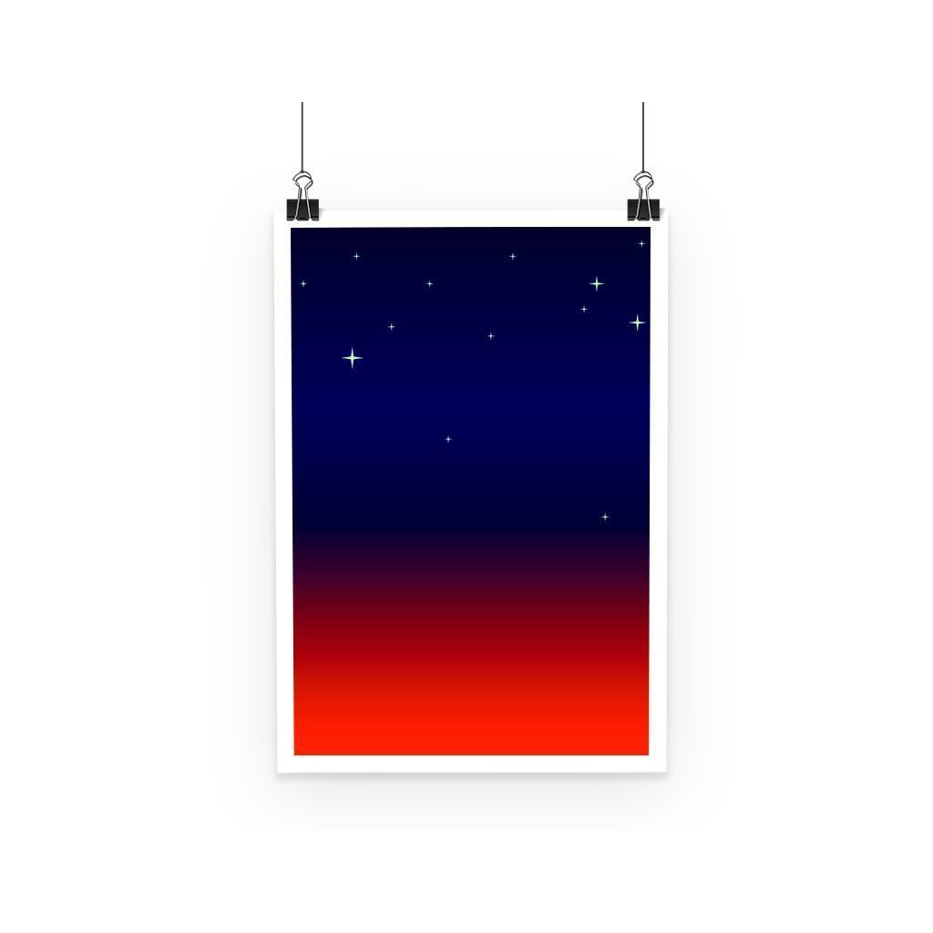kite.ly Wall Decor A3 Abstract Gradient 9 Poster
