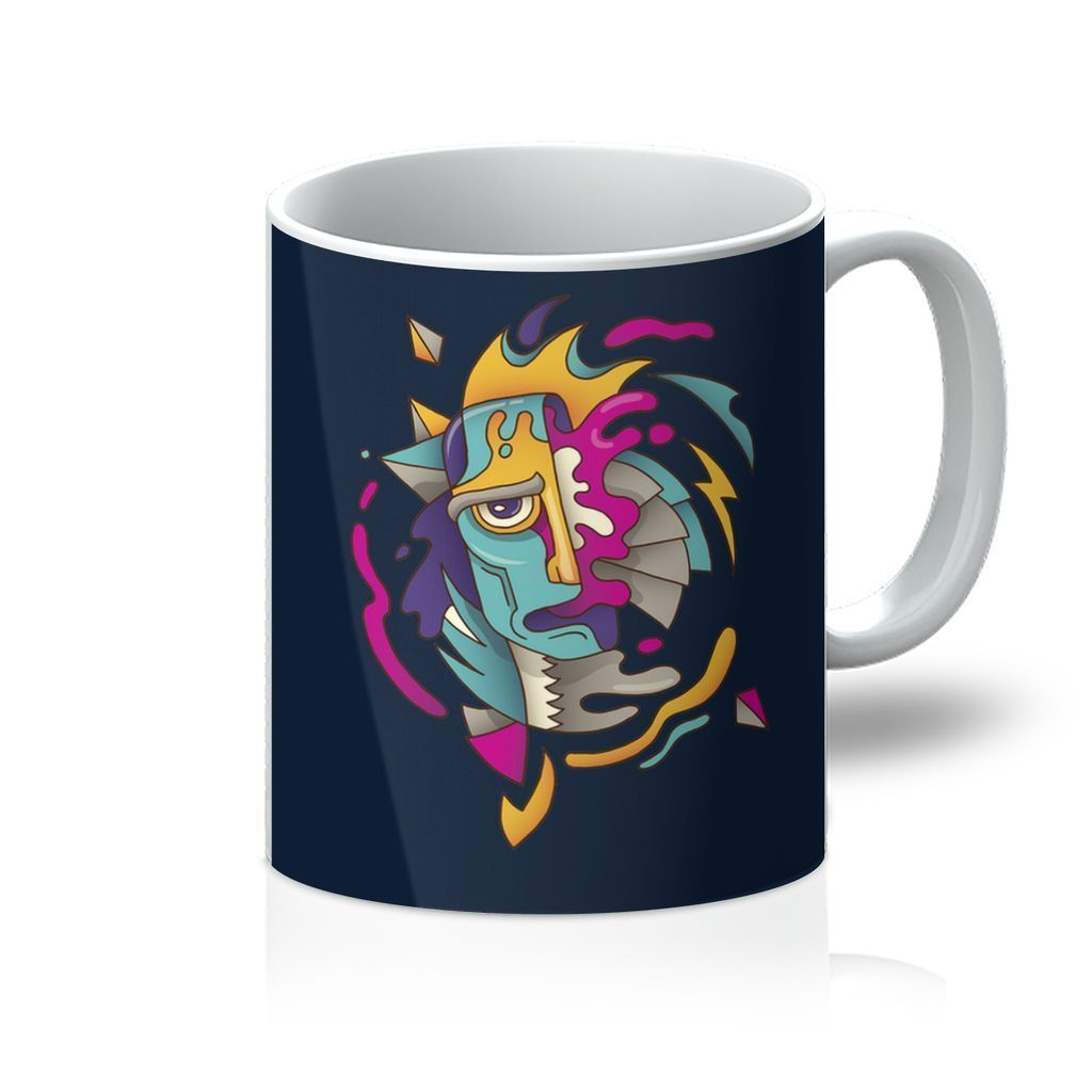 VIRGIN TEEZ Homeware 11oz Abstract Monsta Mug