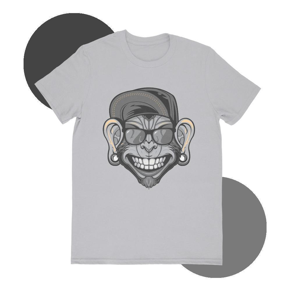 Maham T-SHIRT SMALL Black Monkey T-shirt