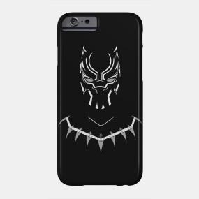 Virgin Teez Mobile Cover iPhone 7 Black Panther Mobile Cover