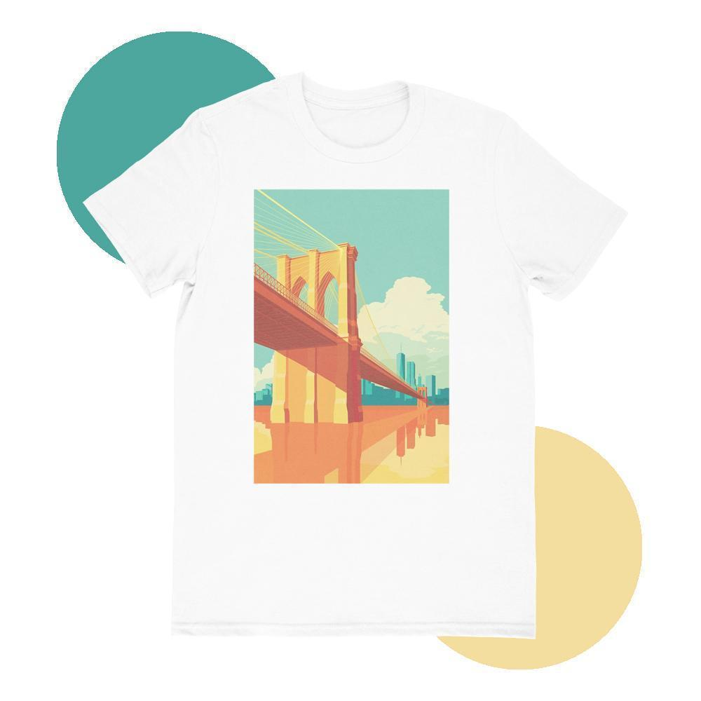 Maham T-SHIRT SMALL Brooklyn Bridge T-shirt