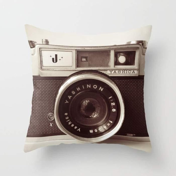 "The Pillow pillows 16"" x 16"" Camera Cushion/Pillow"