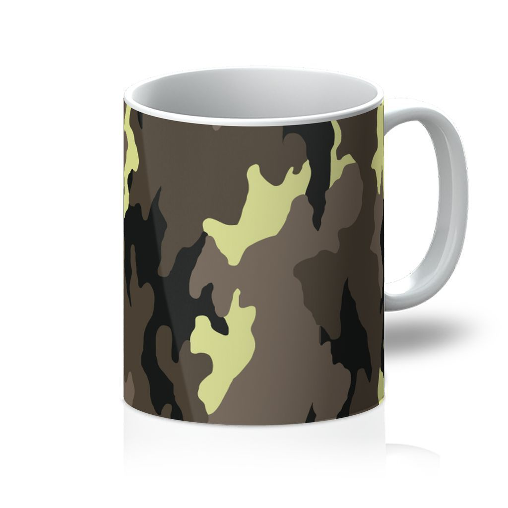 VIRGIN TEEZ Homeware 11oz Camofludge 10 Mug