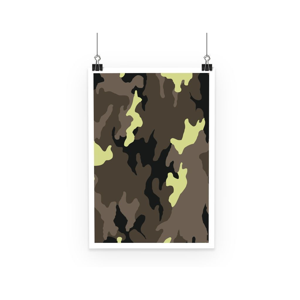 kite.ly Wall Decor A3 Camofludge 10 Poster