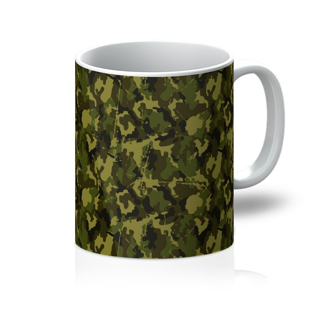 VIRGIN TEEZ Homeware 11oz Camofludge 11 Mug