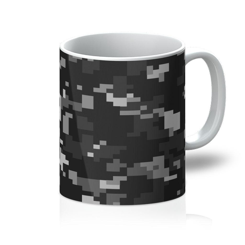 VIRGIN TEEZ Homeware 11oz Camofludge 4 Mug