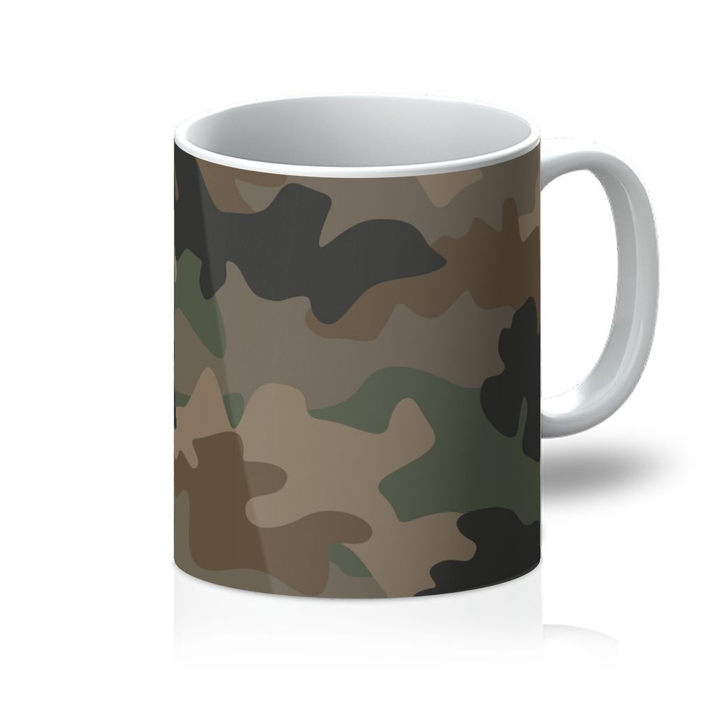 VIRGIN TEEZ Homeware 11oz Camofludge 9 Mug