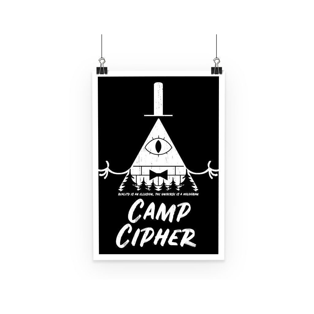 kite.ly Wall Decor A3 Camp Cipher Poster