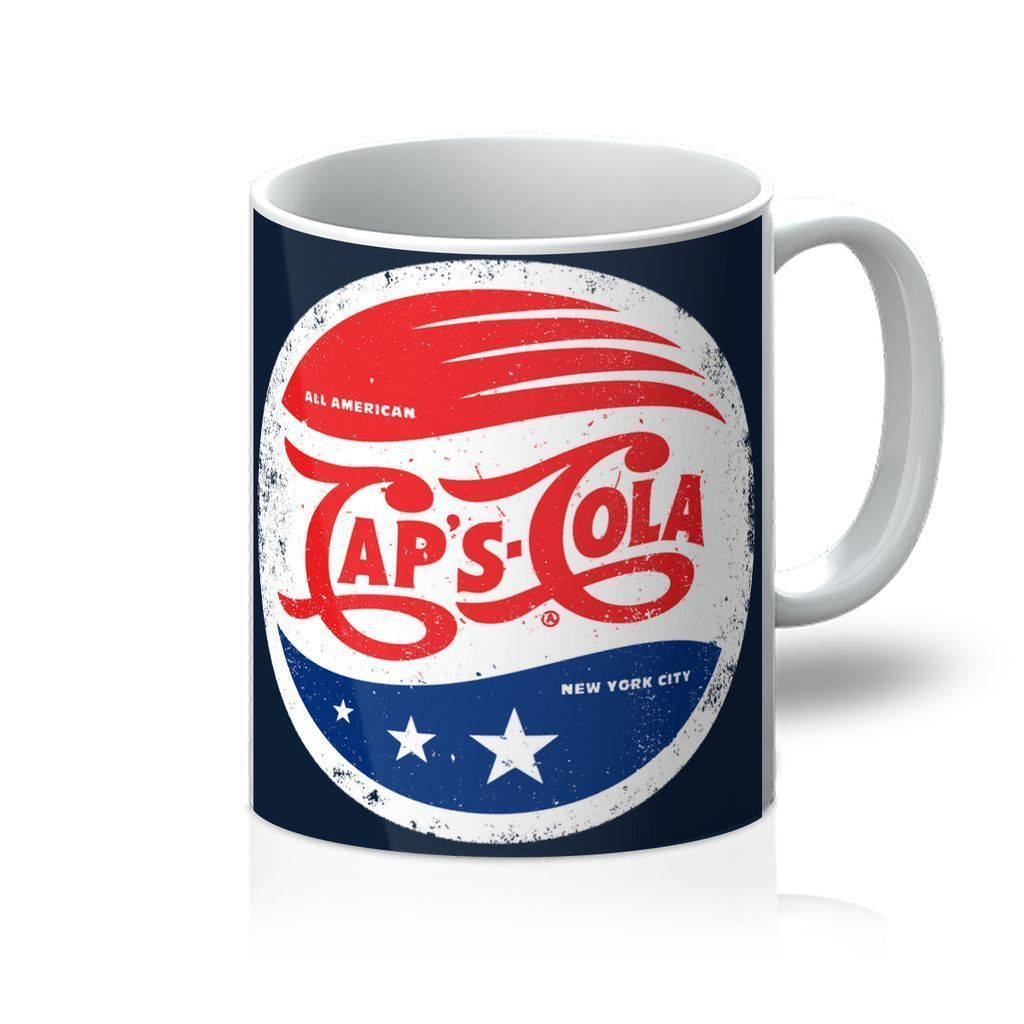 VIRGIN TEEZ Homeware 11oz Caps Cola Mug