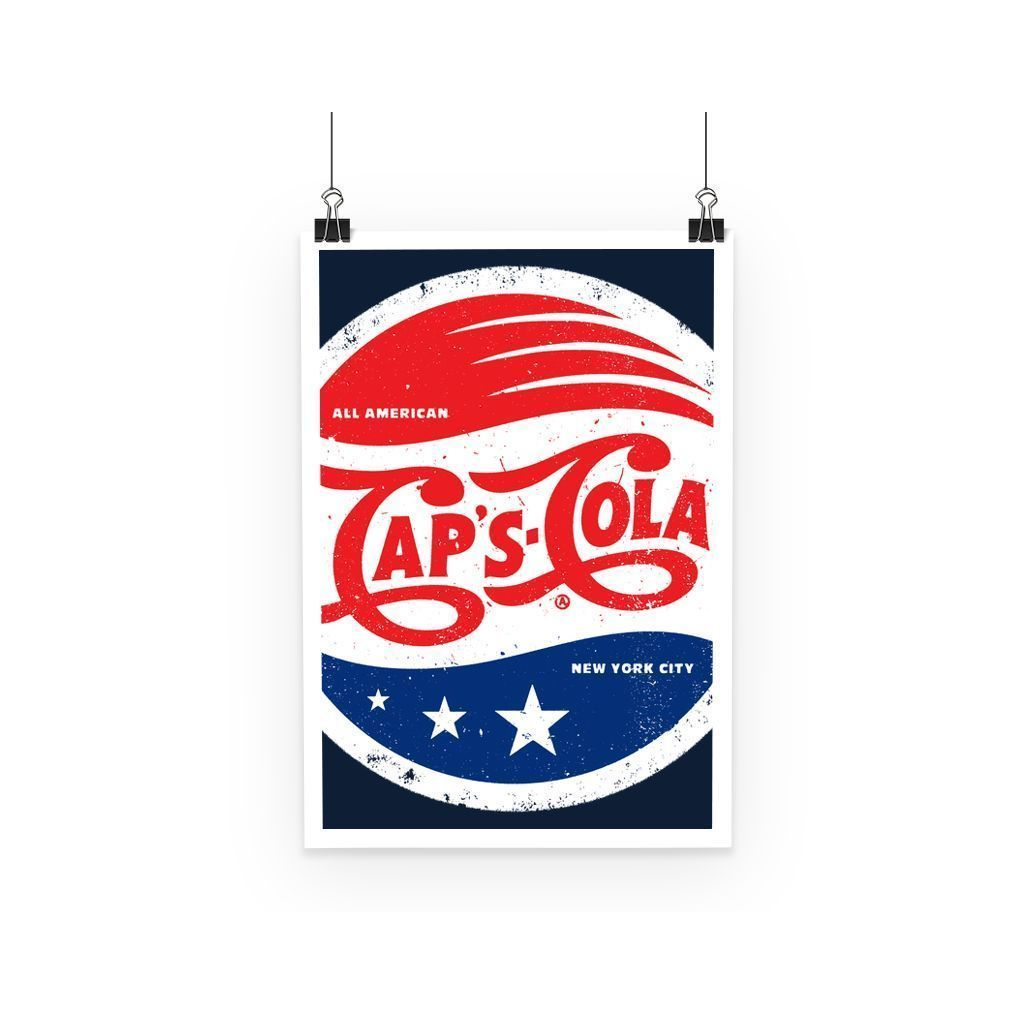kite.ly Wall Decor A3 Caps Cola Poster