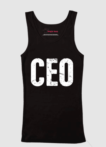 Virgin Teez Tank Top CEO Tank Top