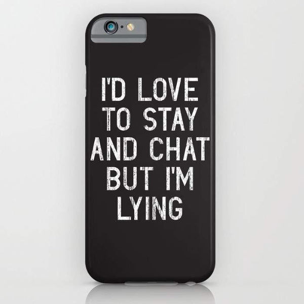 Threadless Mobile Cover iPhone 7 Chat Mobile Cover