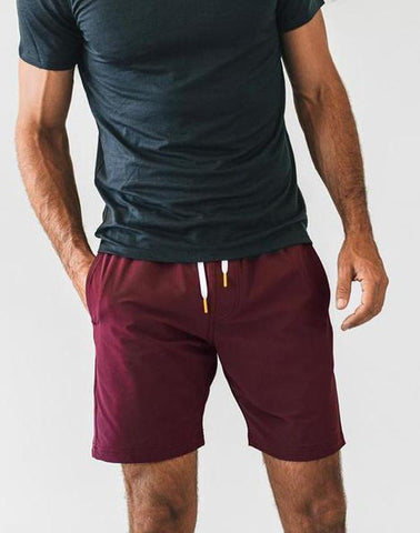 "Virgin Teez Shorts SMALL (28""-18"") Crimson Plain Shorts"