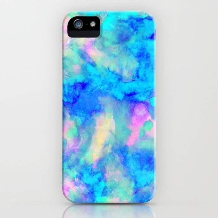 Threadless Mobile Cover iPhone 7 Electrify Ice Blue Mobile Cover