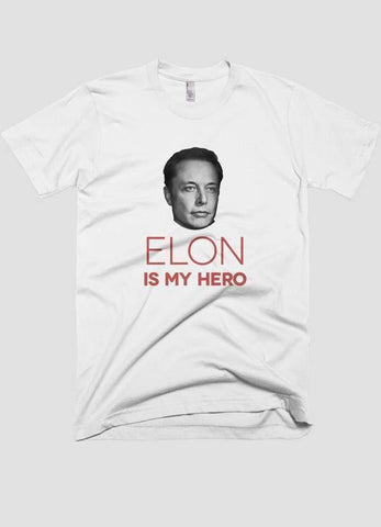 HAREF ART T-SHIRT Small ELON MUSK Printed T-shirt