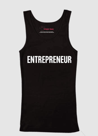Virgin Teez Tank Top SMALL / Black Entrepreneur Tank Top