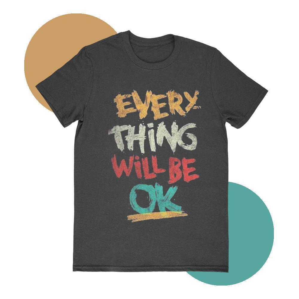 Maham T-SHIRT SMALL Everything will be Ok T-shirt