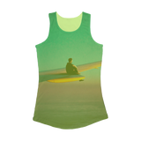 VIRGIN TEEZ Women Tank top Electric Green / XS Flying Alone Women Performance Tank Top