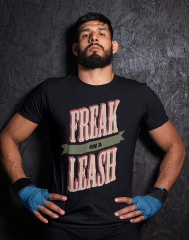 Virgin Teez T-SHIRT Freak Leash T-shirt