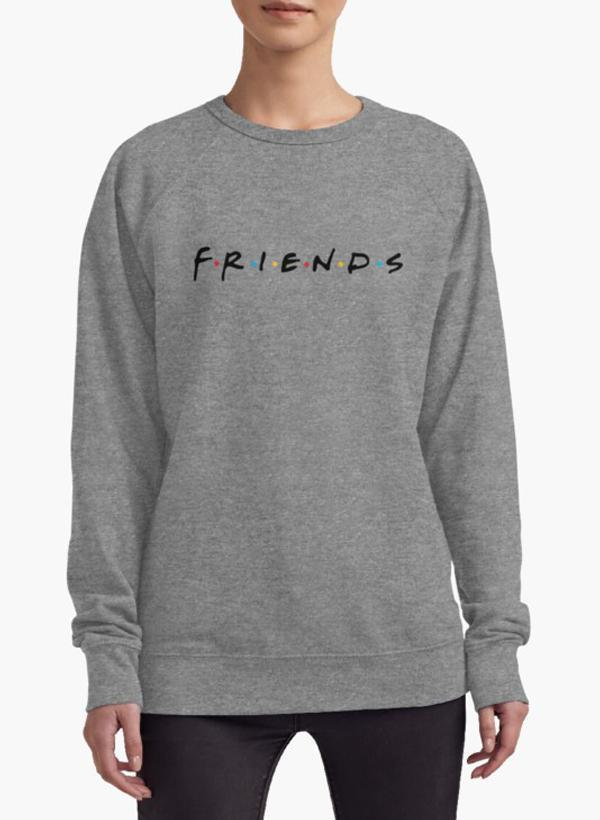 Huma Ijaz Sweat Shirt Friends (TV Show) WOMEN SWEAT SHIRT