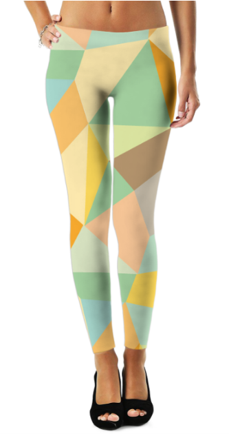 Virgin Teez Leggings Graphic Pattern (4) Legging