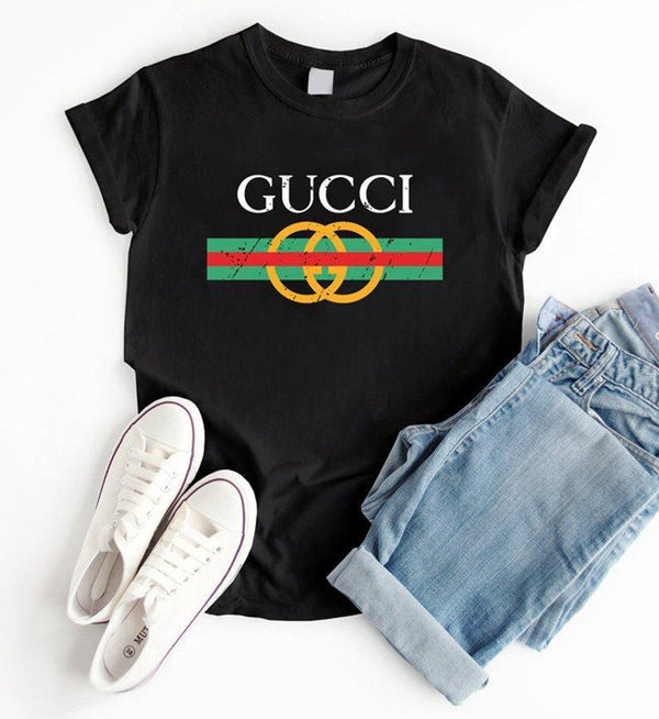 Virgin Teez T-SHIRT Gucci Black T-shirt