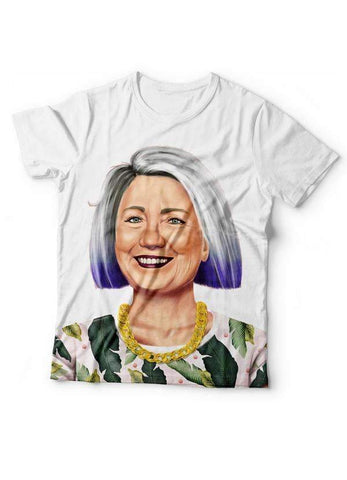 Aiza Malik T-SHIRT Hillary Clintion T-Shirt