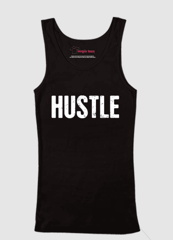 Virgin Teez Tank Top Hustle Tank Top